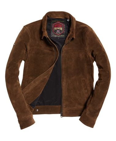 Superdry Curtis Suede Jacket