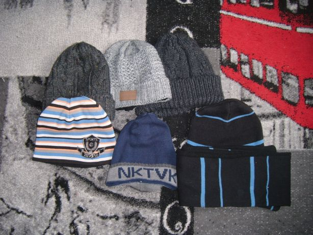 czapki zimowe na chłopca