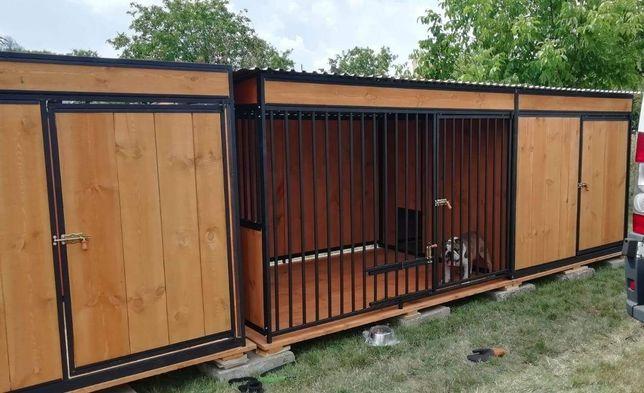 Kojec dla psa+ pomieszczenie gospodarcze. Kojce, wiaty i inne