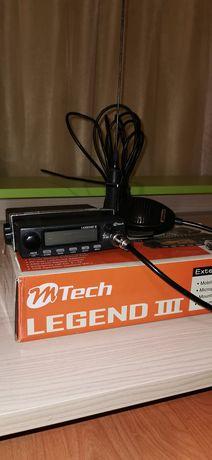 Sprzedam cb radio Mtech Legend III tuning KONEKTOR