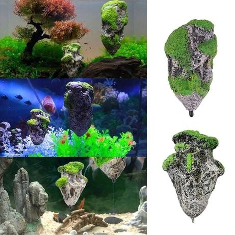 Pedra flutuante aquarios (matrial novo)