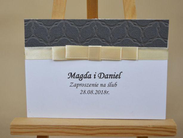 Zaproszenie na ślub ręcznie robione HandMade