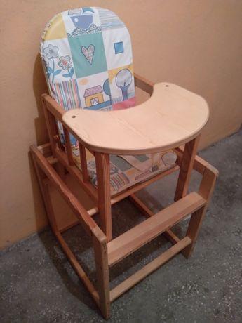 krzesełko do karmienia stolik krzesełko drewniane