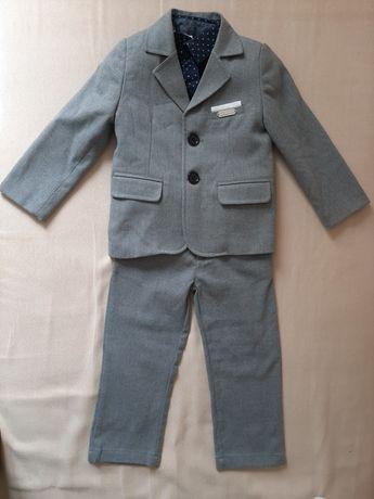 Костюм нарядний на 2 - 2,5 - 3  роки, штани на затяжках, піджак
