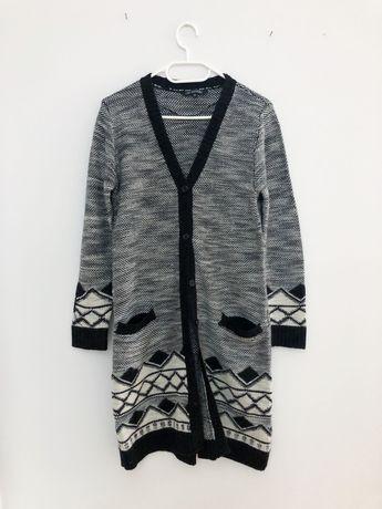 Długi sweter sweterek Top secret 36 S