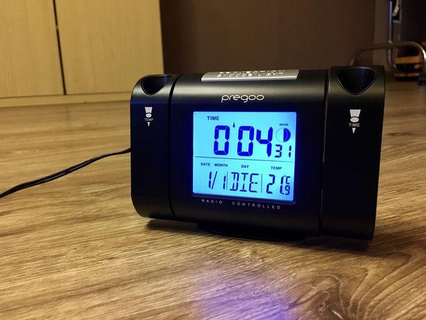 Годинник з лазерним проектором