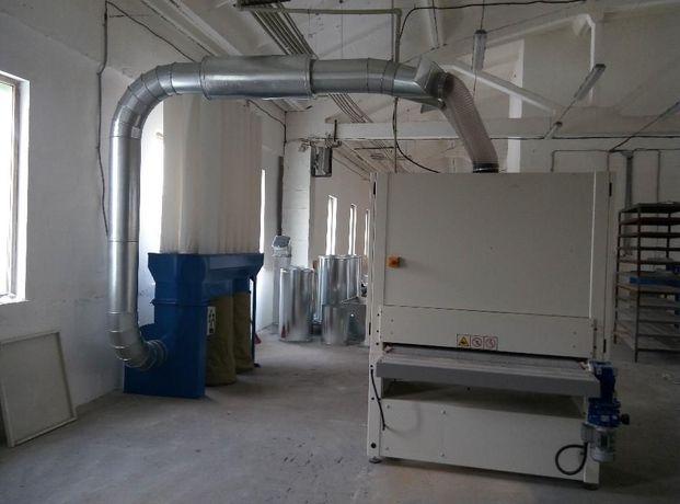 Аспирация пылевая под калибровально-шлифовальный станок от завода