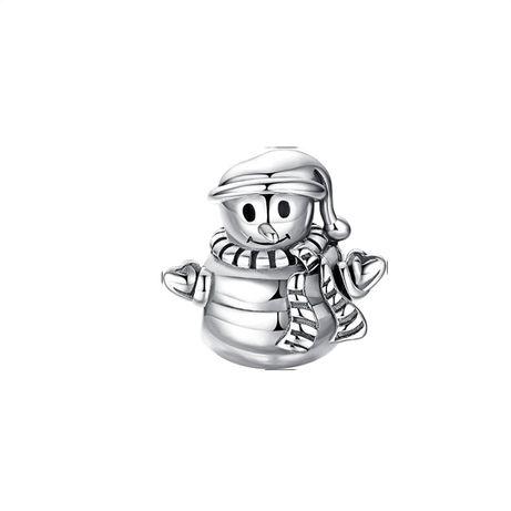 Charms Bałwan Bałwanek Snowman do bransoletki Pandora S925