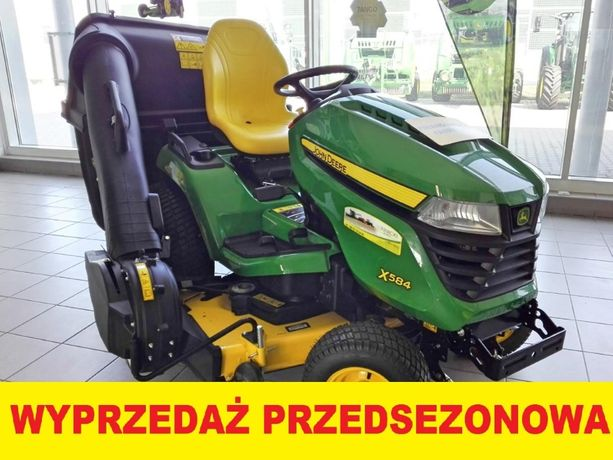 Kosiarka John Deere X584 traktorek ogrodowy ciągnik ogrodniczy NOWY