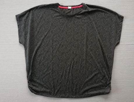 Duża, szara bluzka r.54