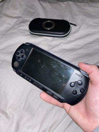 Playstation Poratable PSP street zestaw + karta pamięci + pokrowiec