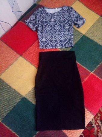 топ и юбка размер 42