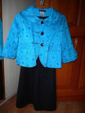 Сарафан (платье) с болеро для девочки 12-13-14 лет.