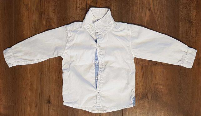 Biała, elegancka koszula firmy 5.10.15