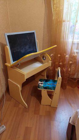 Детский набор стол и стул