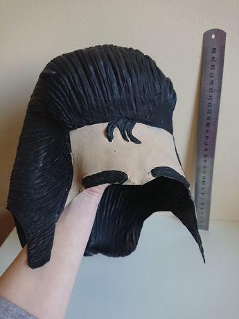 Карнавальна маска парик Елвис. Маска на Хелловін.