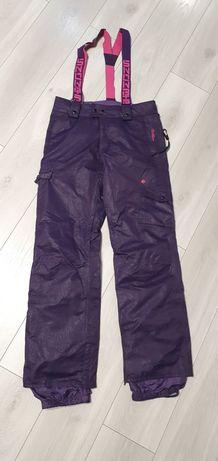 Spodnie na śnieg śniegowce narciarskie