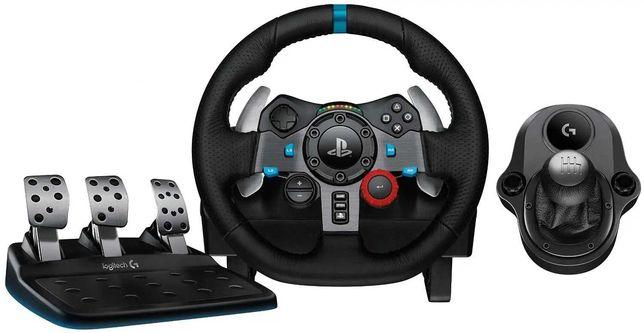 Logitech G29 Driving Force Race Wheel Volante + Mudanças