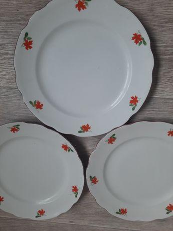 Тарелки, тарілки, блюда, 3 шт. Коростень, СРСР