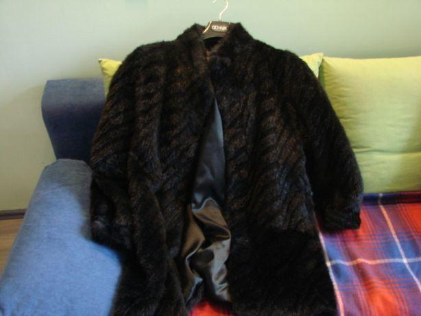 kurtka sztuczne futro