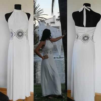 Cudna sukienka ASOS roz 38 maxi koronka lejąca