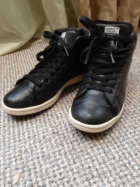Кожаные ботинки Adidas оригинал.