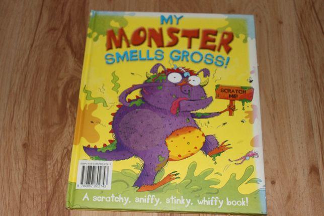 my monster książeczka po angielsku