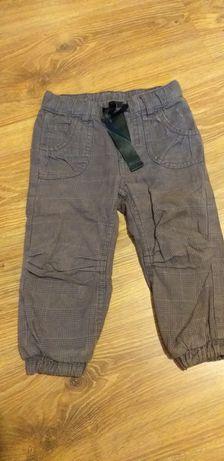 Spodnie ocieplane H&M r 86