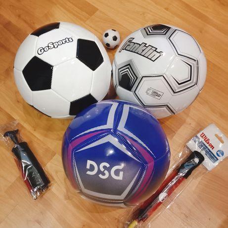 Мяч футбольный,насос.сша.