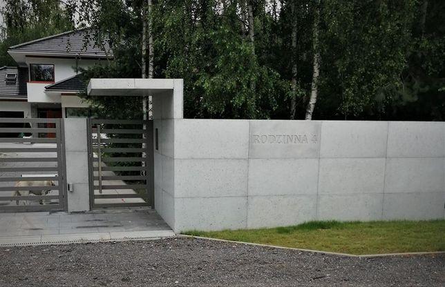 Płyty betonowe 100x50 cm - na ściany, elewacje, ogrodzenia