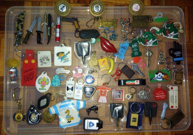 Lote de vários Porta-Chaves Antigos