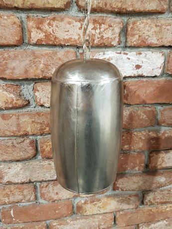 Lampa wisząca metalowa industrialna loft 2 szt.