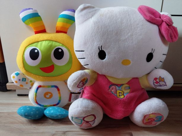 Hello kitty, Bebo fisher price polskie zabawki interaktywne