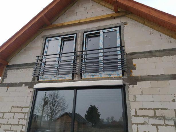 Balustrada, brama przesuwna i dwuskrzydłowa, ogrodzenie, schody itp