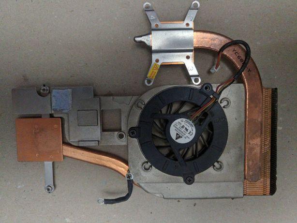Система охлаждения ноутбука A8J + вентилятор (кулер) KFB0505HHA