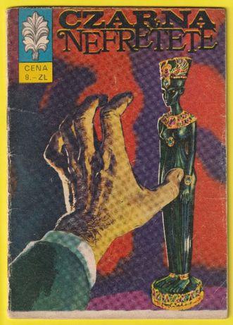 kapitan Żbik - Czarna Nefretete - 1970 - pierwsze wydanie