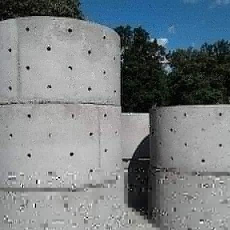 Кольца бетонные/железобетонные от производителя.Доставка-монтаж