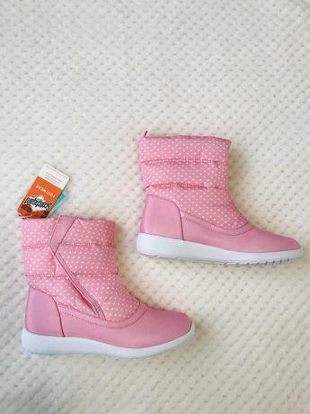 Водонепроникні чобітки для дівчинки