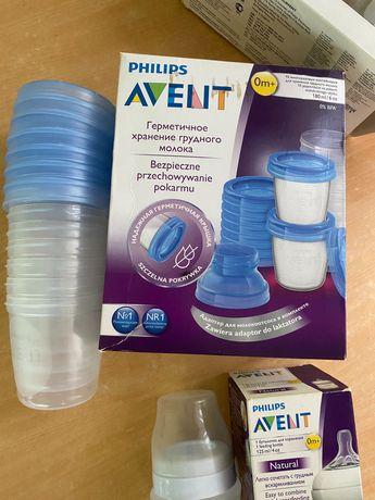 Контейнеры для заморозки молока Avent Philips