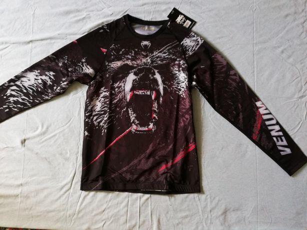 Компрессионная футболка с длинным рукавом (рашгард) Venum супер качест