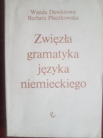Wanda Dewitzowa - Zwięzła gramatyka języka niemieckiego