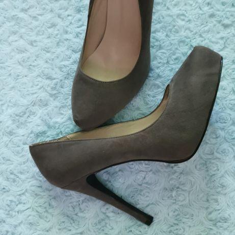 Туфлі замшеві жіночі, туфли женские