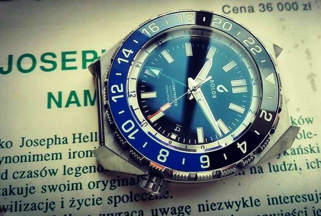 BOLDR Globetrotter GMT Black & Blue (Batman)