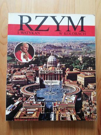Rzym i Watykan w kolorach album