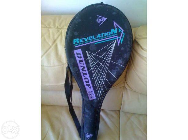Raquete de tenis-Dunlop-peça unica nunca usada