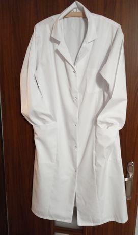 Fartuch medyczny, ubranie medyczne, nowy, rozm 46