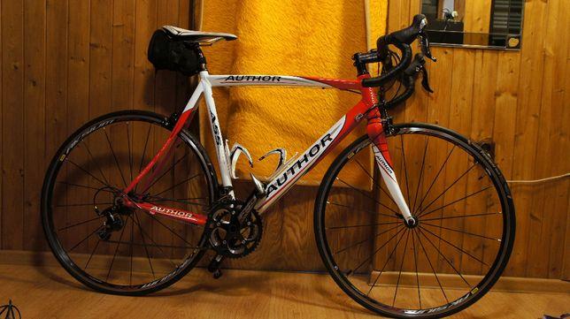 Rower szosowy alu/carbon *NOWY* szosa AUTHOR A55, rozmiar: 540