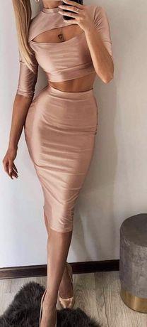 Komplet top plus spodnica S