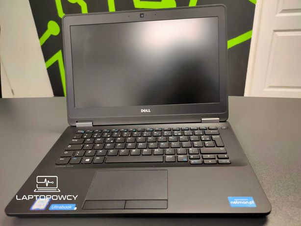 "DELL E7270 Laptopowcy.pl WIN 10 I5 8GB SSD 256 12,5"" Szybki"