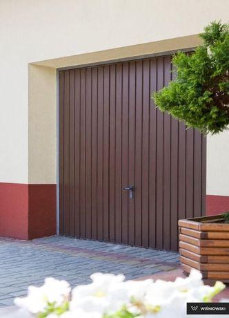 Brama garażowa uchylna Wiśniowski 2480x2230 montaż bram arażowych